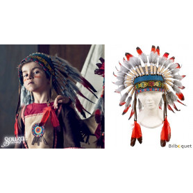 Parure du Chef indien Ituha - Accessoire déguisement enfant