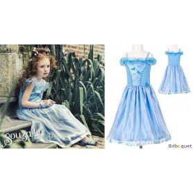 Robe de princesse bleue Sylvianne - Déguisement fille