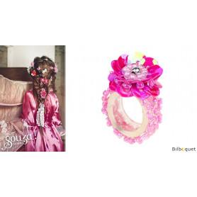 Bague Jessy - Fuchsia - Bijou enfant