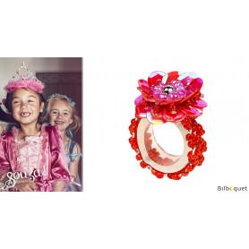 Bague Jessy - Rouge - Bijou enfant