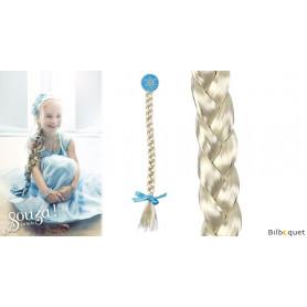 Diadème avec tresse blonde Lina - Accessoire pour enfants