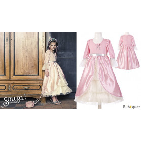 Robe classique Marie-Antoinette - rose clair - Déguisement fille
