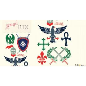 Tattoos Chevalier - Tatouages enfants (éphémères)