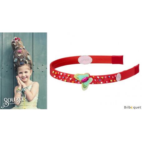 Serre-tête Alette rouge - Accessoire pour enfant