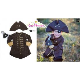 Panoplie Capitaine Crochet - Déguisement garçon