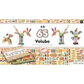 Volubo Animaux - Jeu de construction 65 pièces