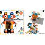 Kinoptik Robots 60pièces - Jeu d'imagination