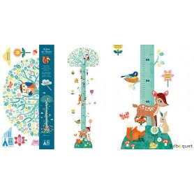 Stickers Toise Arbre en fleurs