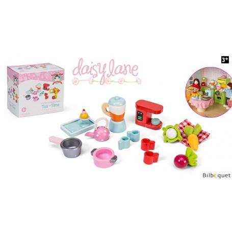 Miniatures Tea Time - Accessoires pour maisons de poupées