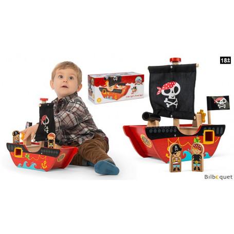Bateau de Pirate Petit Capitaine - Jouet en bois