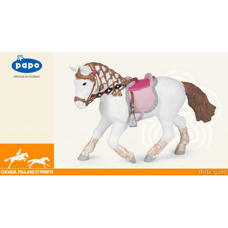 Poney de promenade - Figurine jouet