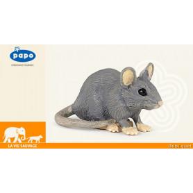 Souris grise - Figurine jouet
