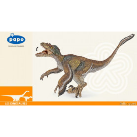 Vélociraptor à plumes - Figurine dinosaure Papo