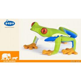 Rainette aux yeux rouges - Figurine grenouille