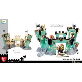 Castel on Ze Rock - Château fort en bois Djeco Arty Toys (sans figurines)