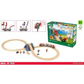Circuit en 8 voyageurs - Circuit de train en bois