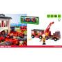 Camion de Pompiers son et lumière - Véhicules BRIO