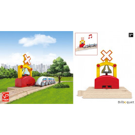 Cloche de train automatique - Accessoire pour train en bois