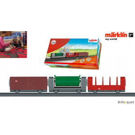 Kit de 3 wagons transport de marchandises - Märklin My World