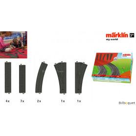 Coffret de rails en plastique - Märklin My World