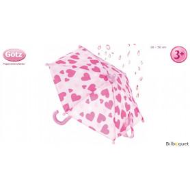 Parapluie pour poupée jusqu'à 50cm