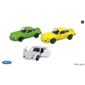 Porsche 911 Carrera RS (1973) - Véhicule à rétrofriction - Échelle 1:34/39ème