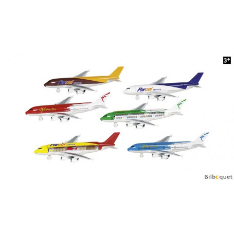 Avion de transport à réaction - Véhicule à rétrofriction