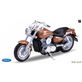 Moto 2002 Kawasaki Vulcan 1500 Mean Streak - Jouet 1:18ème