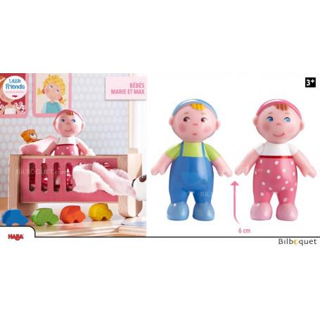 Poupées bébés Marie et Max - Little Friends