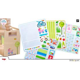 Autocollants décoratifs - Accessoires pour maison de poupée Little Friends
