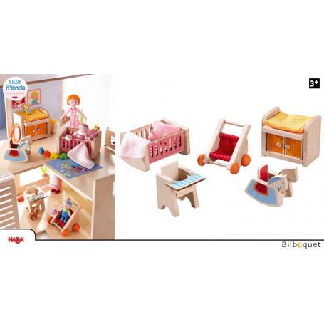 Chambre d'enfant/bébé - Meubles pour maison de poupée Little Friends