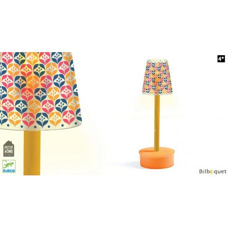 Lampe sur pied - Accessoire pour maison de poupées