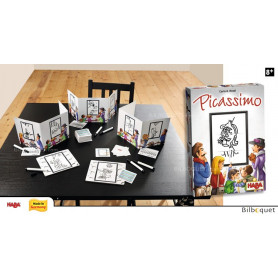 Picassimo - Un jeu de dessin - Jeu Junior & Famille