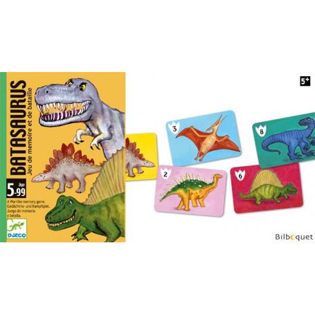 Batasaurus - Jeu de mémoire et de bataille