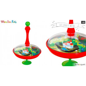 Toupie Globe Voitures - Les jouets métal