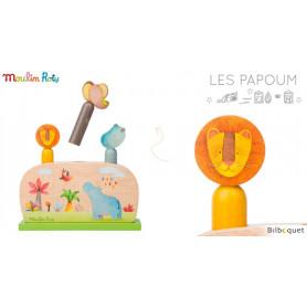 Pop up - Jouet d'éveil en bois - Les Papoum