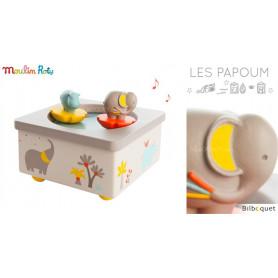 Manège musical magnétique - Les Papoum