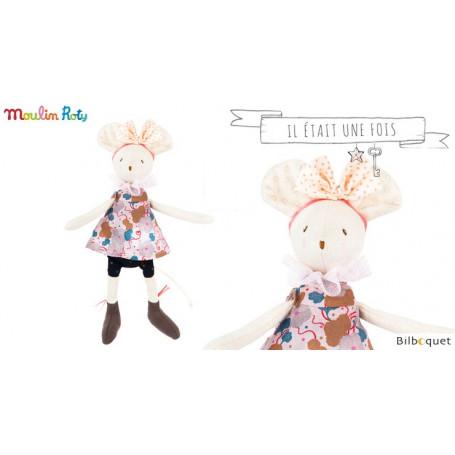 Petite souris Lala (noeud à pois) - Il était une fois - Moulin Roty