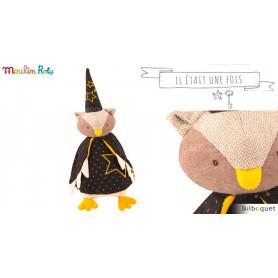 Poupée hibou Le magicien - Il était une fois - Moulin Roty