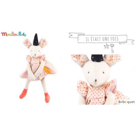 Petite souris Mimi (noeud blanc) - Il était une fois -Moulin Roty
