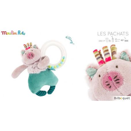 Hochet Anneau billes Chat - Les Pachats