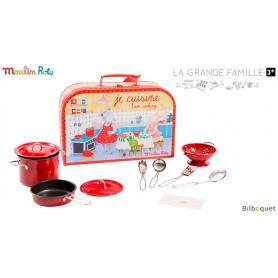 Valise d'ustensiles Je cuisine - La Grande Famille
