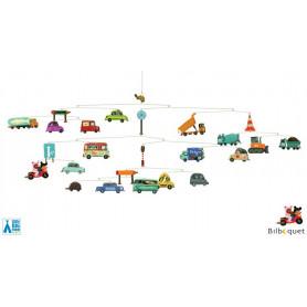 Automobiles - Mobile pour chambre d'enfant