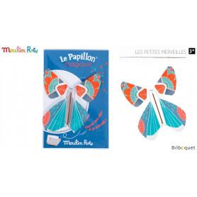 Papillon magique - Bleu foncé - Les petites merveilles