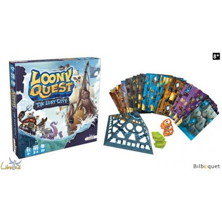 The Lost City - Extension n°1 pour le jeu Loony Quest