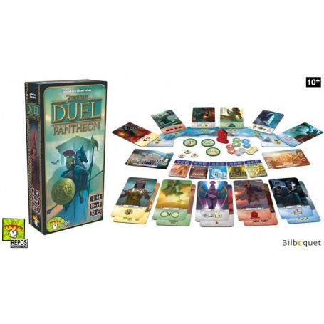 7 Wonders Duel : Panthéon - Extension pour le jeu 7 Wonders Duel