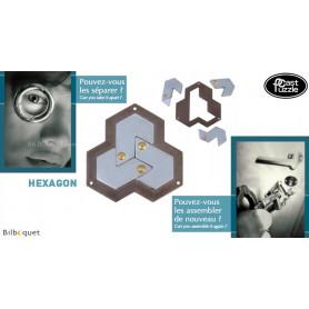 Casse-tête en métal Hexagon