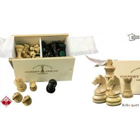 Pièces d'échecs en bois de buis n°4