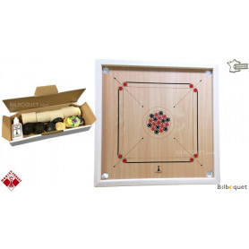 Carrom traditionnel 82cm - Jeu en bois