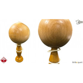 Bilboquet en bois 18cm - Naturel